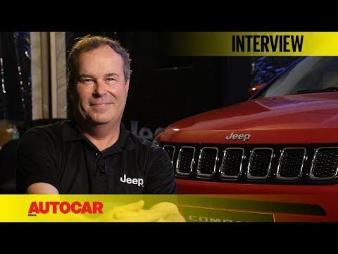 Jeep Chief Designer | Mark Allen | Interview | Autocar India