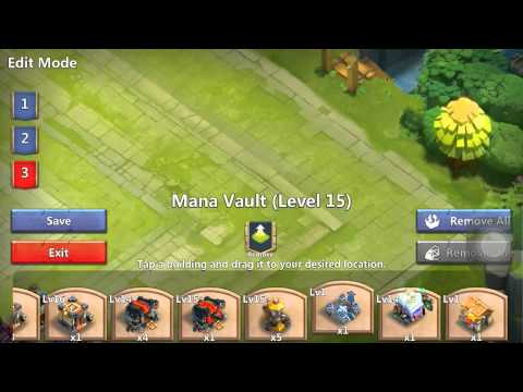 Castle Clash Level 15 Town Hall Corner Base