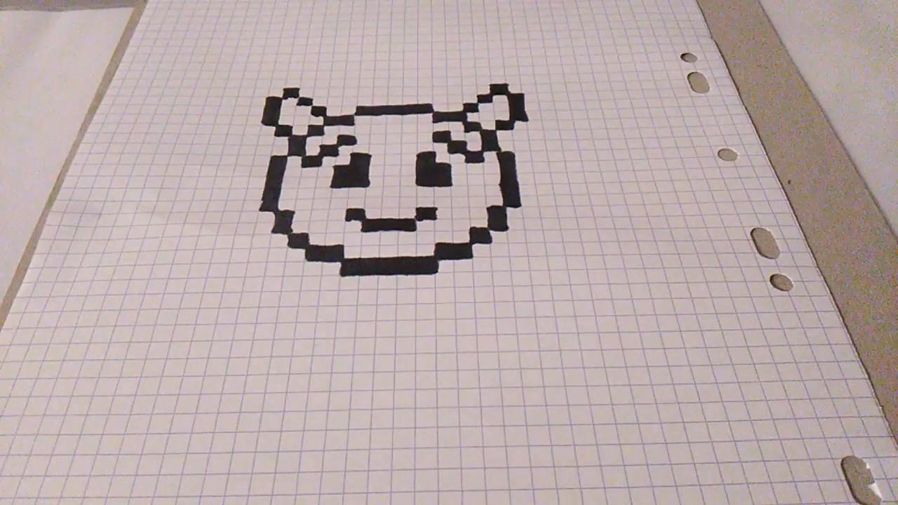 Comment Dessiner Le Diable Emojis En Pixels Art Youtube