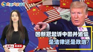 起诉中国并追偿 是法律还是政治?《焦点大家谈》2020年5月6日 第150期