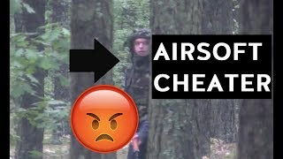 Airsoft Sniper Gameplay - CHEATER!