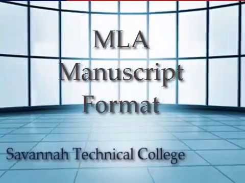 How to Format Your Document in MLA Style (7th edition) - YouTube