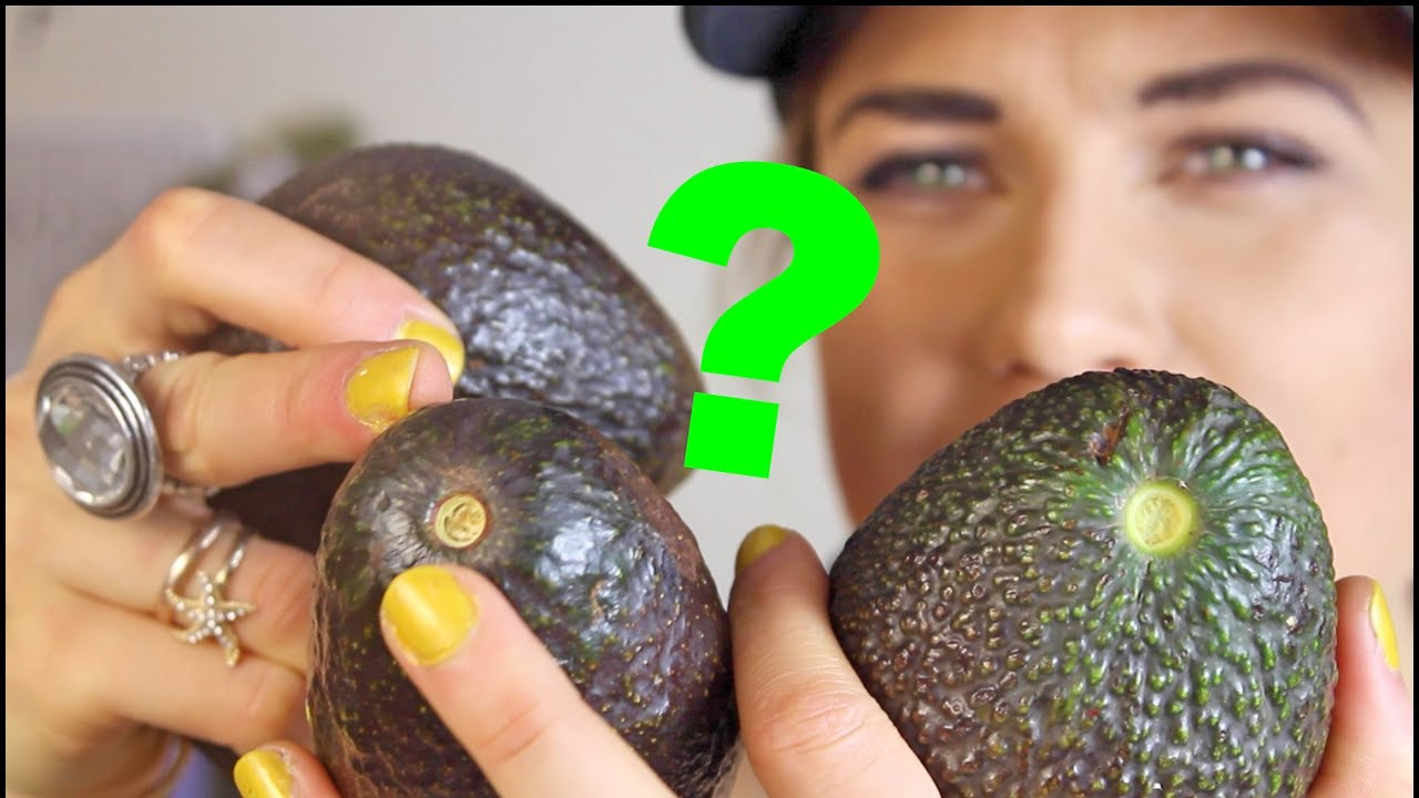 How to determine the ripeness of avocados in the store 71