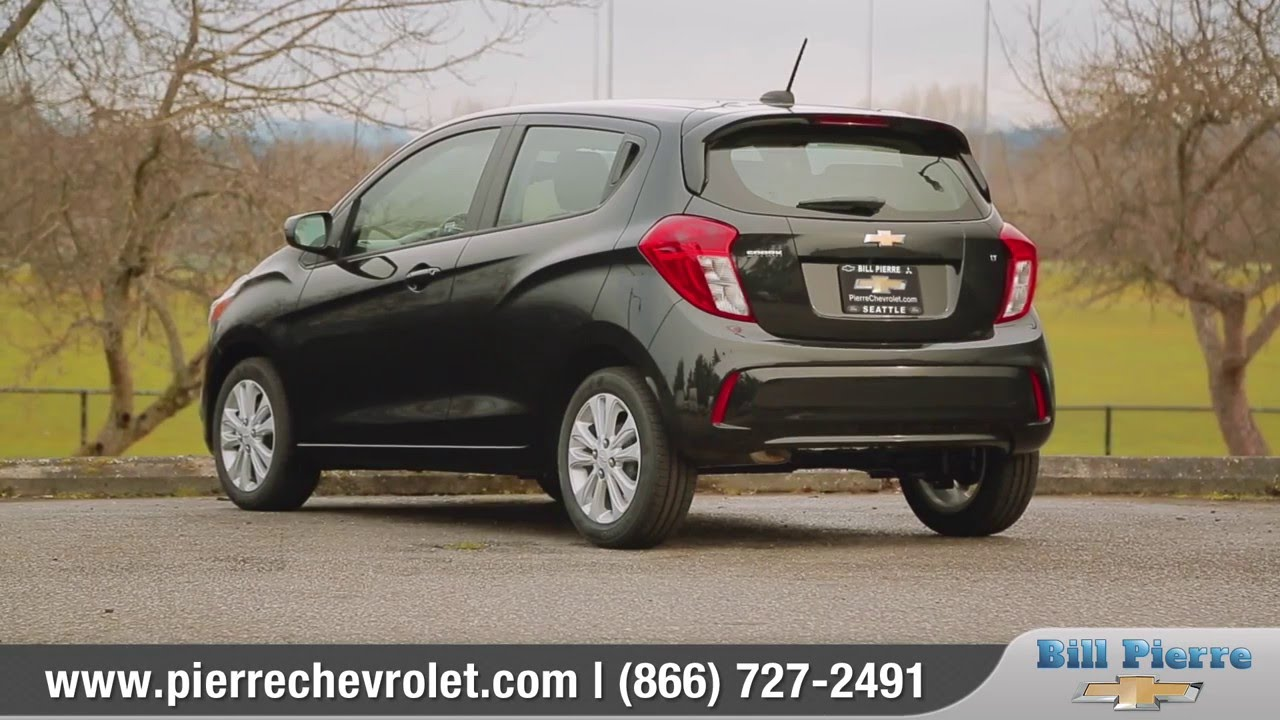 2016 chevy spark review bill pierre chevrolet serving seattle wa youtube