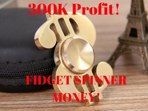 $300,000 This Month! FIDGET SPINNER MONEY!