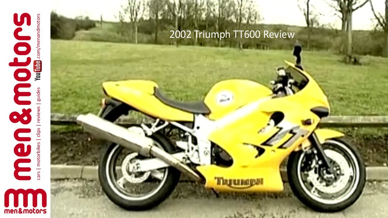 2002 triumph tt600 review youtube rh youtube com 2003 Triumph Daytona 675R 2003 Triumph Daytona 675R