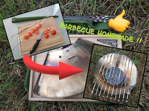 Barbecue pliable homemade!