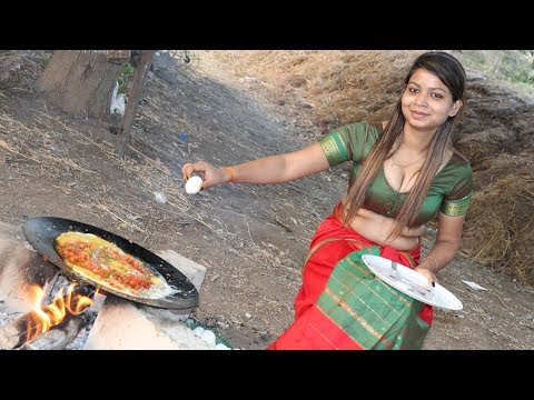 Traditional Egg Bhurji Recipe || Dhaba Style || Food On Road