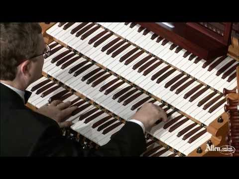 """Allen Organ Artist William Picher plays """"Evening Star"""" from Tannhauser"""