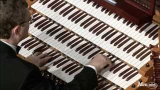 "Allen Organ Artist William Picher plays ""Evening Star"" from Tannhauser"
