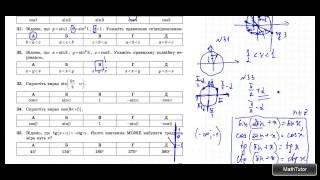 ЗНО 2015 по математике. 19. Тригонометрические выражения