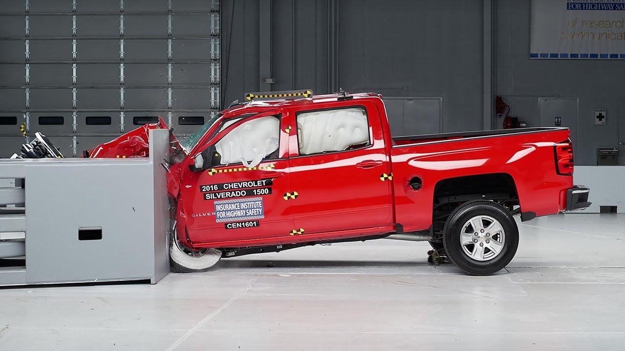 Chevy silverado crash test