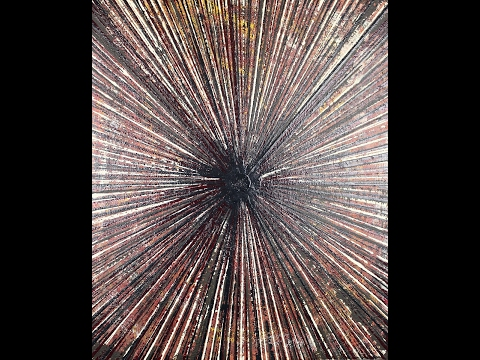 "Abstract Painting Art Demo - ""Life Lines 20"" (w/Voiceover) Embrace The Matrix @embracematrix"