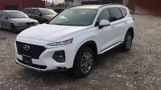The All New 2019 Hyundai Santa Fe Luxury 2.0L Turbo - In Depth Review & Walk Around