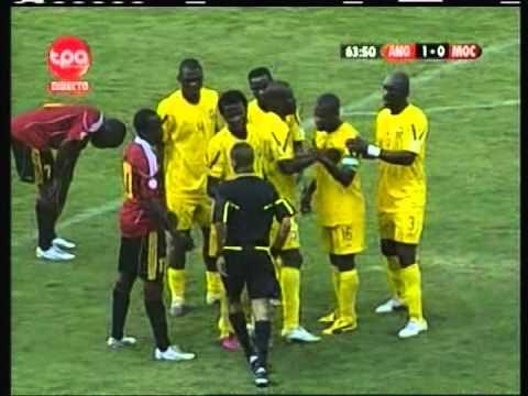 2012 (August 15) Angola 2 -Mozambique 0 (Friendly)