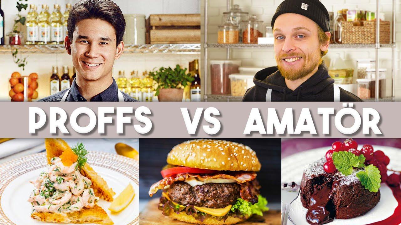 Download PROFFS VS AMATÖR - 3-rättersmiddag