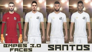 PES 2018 - BMPES 3.0 - TODAS FACES SANTOS - PC