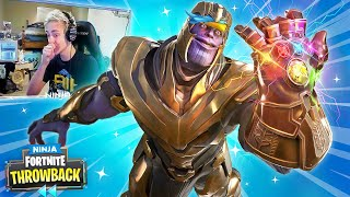 INFINITY GAUNTLET MAYHEM! - FORTNITE THROWBACK