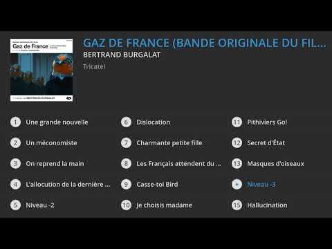 Bertrand Burgalat - Gaz de France (Bande originale du film)