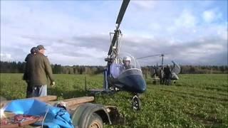 Обучение пилотов автожира