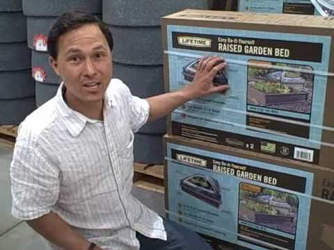 4x4 Square Foot Raised Bed Garden Kit With Green House Dome At Costco