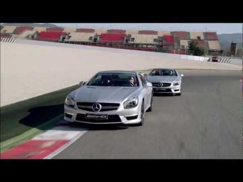 Michael Schumacher and Nico Rosberg introduce the brand new SL63 AMG!