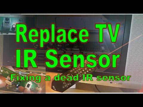TV IR Sensor Replacement [Repair]