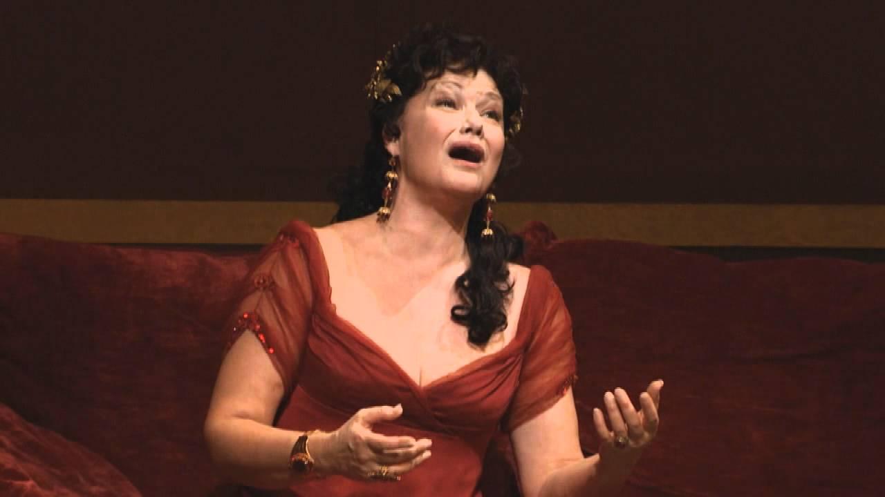 """Tosca: """"Vissi d'arte"""" -- Karita Mattila (Met Opera)"""