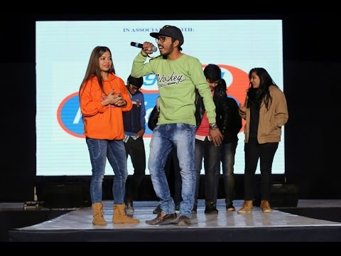 RJ Sudeepta, Radio City 91.1 FM @ 59th Annual NASA Convention, Poornima University Jaipur