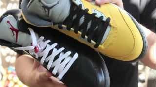 WHICH ONE? Air Jordan 5 Premio Bin vs Air Jordan 5 T23 Tokyo [HD]
