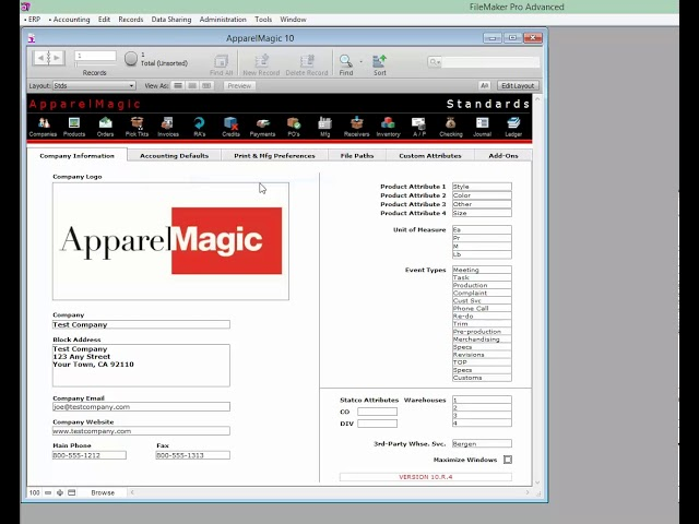 123sync for ApparelMagic 1 Overview 060116