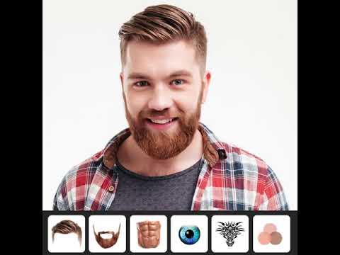 Hairy Men Hairstyles Beard Boys Photo Editor Apps On Google Play