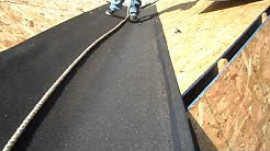 Raleigh Roofing by Rain-Go - Ice & Water Shield Installation Over Valley Flashing