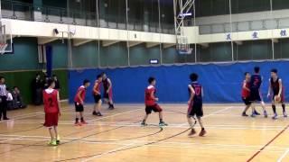 20150129 屯門學界籃球賽 B grade 十六強 ~ 佛教梁植偉 vs 陳瑞芝