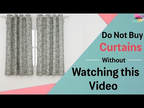 Do not buy curtains without watching this video series!