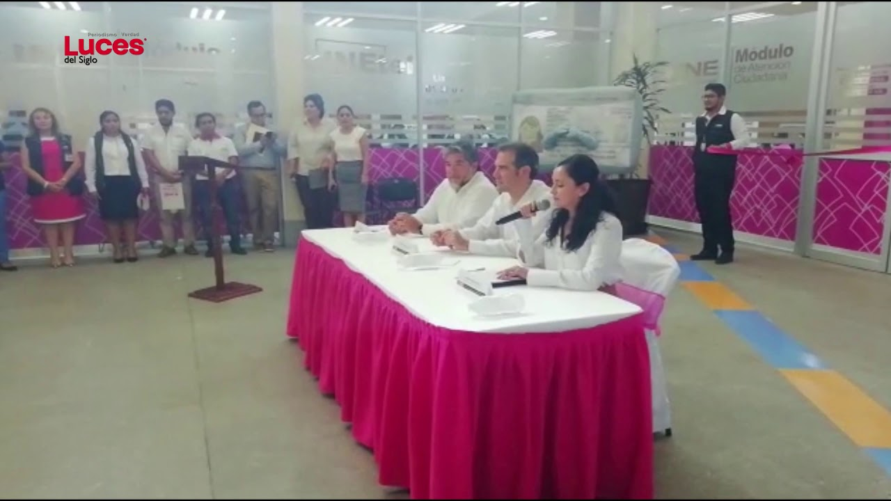 Ine Inauguró Macro Módulo De Atención Ciudadana