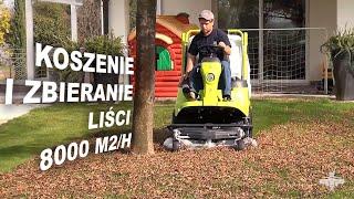 Grillo FD 450 - koszenie i zbieranie liści (wydajność 8000 m2/h)