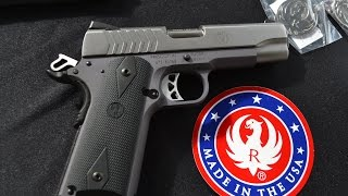 ruger 1911 sr 9mm pistol model 6722