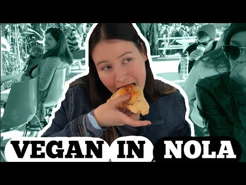 WHERE TO EAT AS A VEGAN IN NEW ORLEANS | Vlogmas day 16