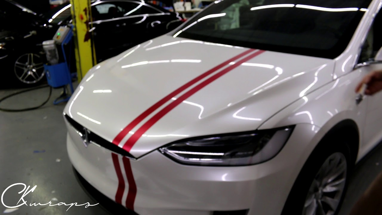 How To Do Vinyl Wrapped Racing Stripes Using Knifeless