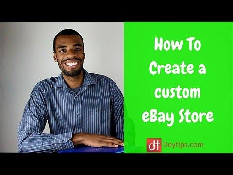 EBay Store Design Tutorial   How To Create Custom Graphics For An EBay Store