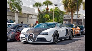 120+ Supercars Arriving to Lamborghini Miami - BEST Car Event Ever - Halloween Supercar RUN 2019