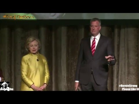 Racist Joke from Hillary Clinton and Bill De Blasio