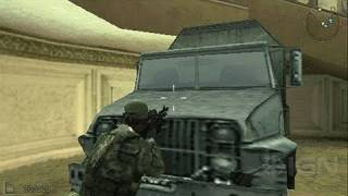 SOCOM: U.S. Navy SEALs Fireteam Bravo 3 Sony PSP Gameplay - Boom Goes the Jeep