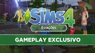 The Sims 4 - Estações - GAMEPLAY PREVIEW
