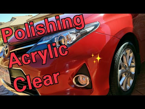 Polishing a Spot Repair at Home