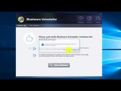 Effectively Uninstall Total Video Converter with Bloatware Uninstaller