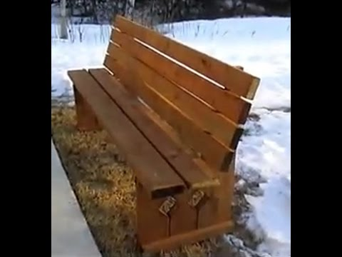 Free Plans For Wooden Benches