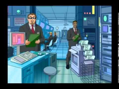 Totally Spies NL - Ontvoering uit het witte huis Deel1