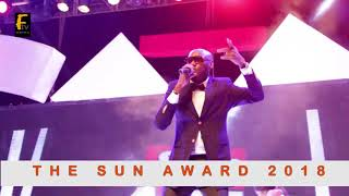 2FACE IDIBIA HAD A GREAT PERFORMANCE WITH SENATE PRESIDENT BUKOLA SARAKI AT SUN AWARD 2018